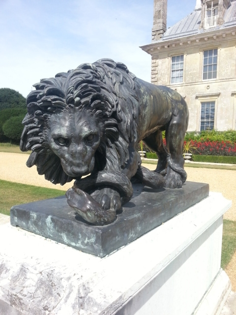 Kingston Lacey Lion