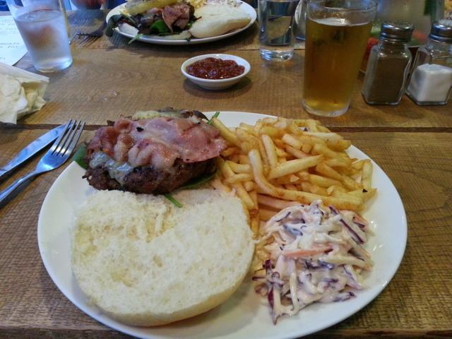 Dorset burger
